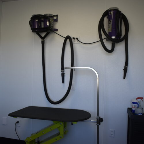 Grooming – Drying Room